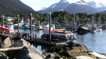 Unloading Tourists In Alaska