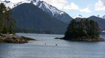 Kayaking In A Scenic Fiord