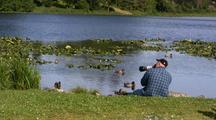 Photographing Ducks