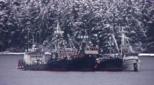 Commercial Fishing Boats:  Fish Tenders & Processors