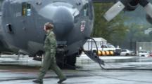 Coast Guard Base: C-140 Air National Guard
