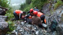 Search And Rescue Rope Climbing & Stretcher Work
