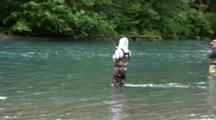 Hiking And Fishing In Alaska Wilderness