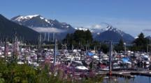 Sitka Alaska Boat Harbor