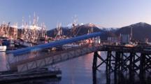 Early Morning Boat Harbor