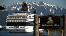 Cruise Ship In Sitka