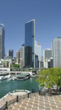 Ferry Terminal And Buildings At Circular Quay