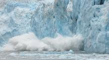 Glacier Calving Push In Amazing Shot Arctic Climate Change Global Warming Aca