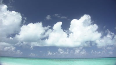 Clouds Tilt To Monk Seals