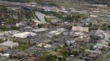 Cineflex Aerial Of Fairbanks Alaska City