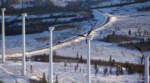 wind turbine farm unalakleet alaska