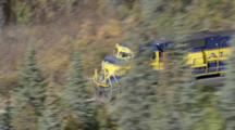 ZatzWorks Cineflex Aerials of the Alaska Railroad Train between Anchorage and Fairbanks