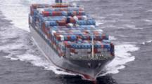 Cineflex Aerial Of Cargo Container Ship Traveling In Alaska Waters By Zatzworks