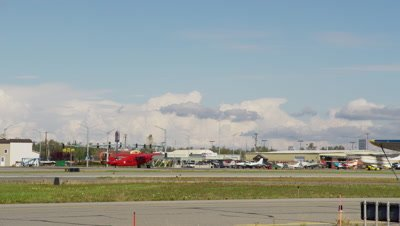Track Small Plane Taking Off at Anchorage Airport