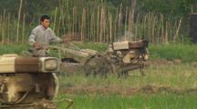 Chinese Agriculture Increase Use Of Machines Tractors Farming