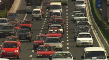 Beijing China Traffic Growing Congestion Asia Oil Consumption Industrial Development