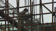 China Chinese Contruction Worker On Buildilng Constuction Boom Asia Growth Contruction Materials Resouces