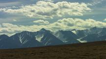 Cloud Time Lapse Over Brooks Range In Alaska National Wildlife Refuge