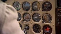 small airplane flying, landing in Brooks Range Alaska