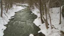 Stream In Late Winter