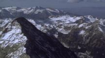 Aerial View Of Capitol Peak, Colorado Rockies