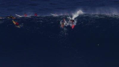 Jaws - big wave surfing- Billy Kemper