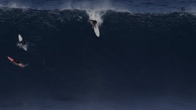 Jaws - big wave surfing- wipeout