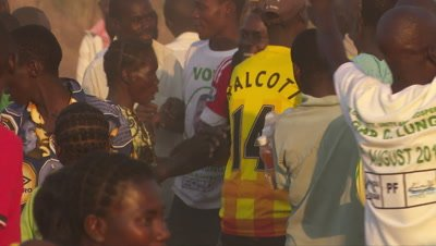 Soccer Crowd Africa