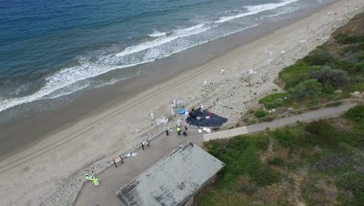 OIL SPILL SANTA BARBARA 2015-CLEANUP WORKERS