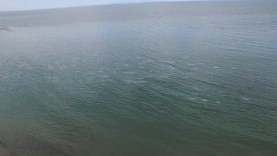 OIL SPILL SANTA BARBARA 2015-OIL SHEEN ON WATER
