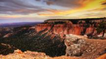 4k Ultrahd Timelapse Of Bryce Canyon At Sunset