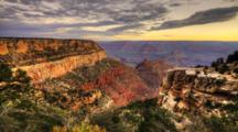 4k Ultrahd A Timelapse Of The Grand Canyon, Arizona