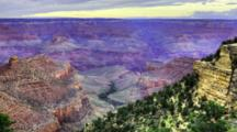 4k Ultrahd Timelapse Of Sunrise At The Grand Canyon