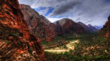 4k Ultrahd Timelapse, Angel's Point, Zion, Utah