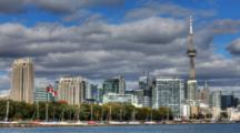 4k Ultrahd A Timelapse View Of Toronto Skyline