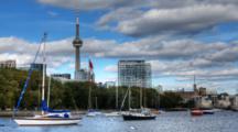 4k Ultrahd A Timelapse View Of Toronto Skyline, Canada