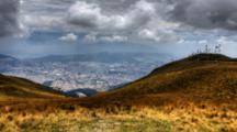 4k Ultrahd A Timelapse View Of Quito, Ecuador