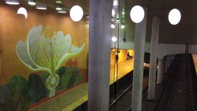 Realtime 4K Dupont Station in Toronto