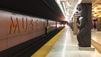 4k Museum Station Toronto