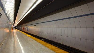 4K Timelapse Queens Park Station Toronto