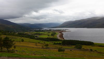 4K UltraHD Timelapse over Ullapool in Scotland