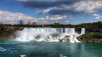 4K UltraHD Timelapse of the American Falls, Niagara Falls