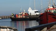 Rescue Training Boat In DragøR, Denmark, Marina