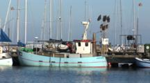 Small Fishing Boat In Dragor Denmark, Marina