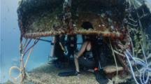 Entry To Aquarius Reef Base, Key Largo, Florida