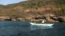 Dynamite Fisherman (Reef Blasting), Throws Bomb, Explodes