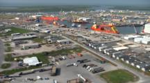 Louisiana Aerials Of Oil Refinery