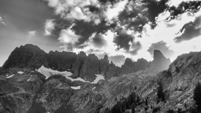 4K Minarets, Ansel Adams Wilderness, Inyo National Forest, Sierra Nevada