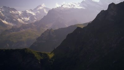 Ascending the Swiss alps