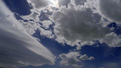 Time-lapse of cloudscape